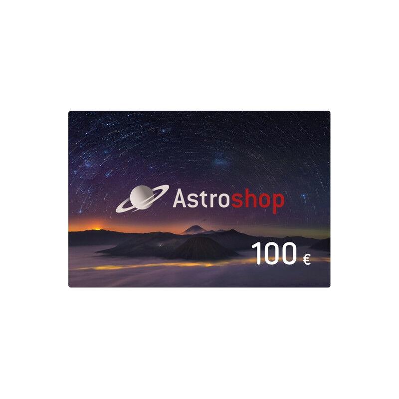 - Astroshop voucher at a Value of 100 €