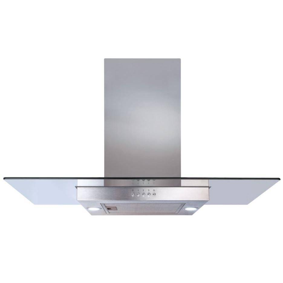 CDA Island Cooker Hood - Stainless Steel - A++ Rated - ECNK90SS