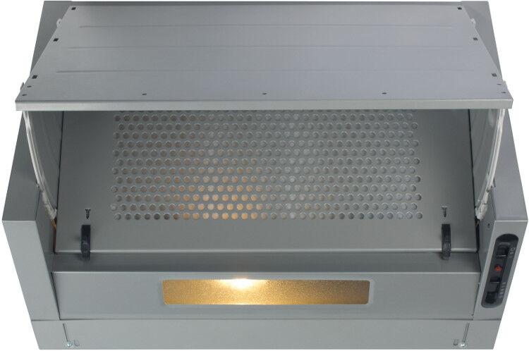CDA Integrated Cooker Hood - Silver - D Rated - EIN60FSI