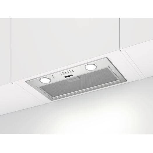 Zanussi Canopy Cooker Hood - Stainless Steel - C Rated - ZFG816X