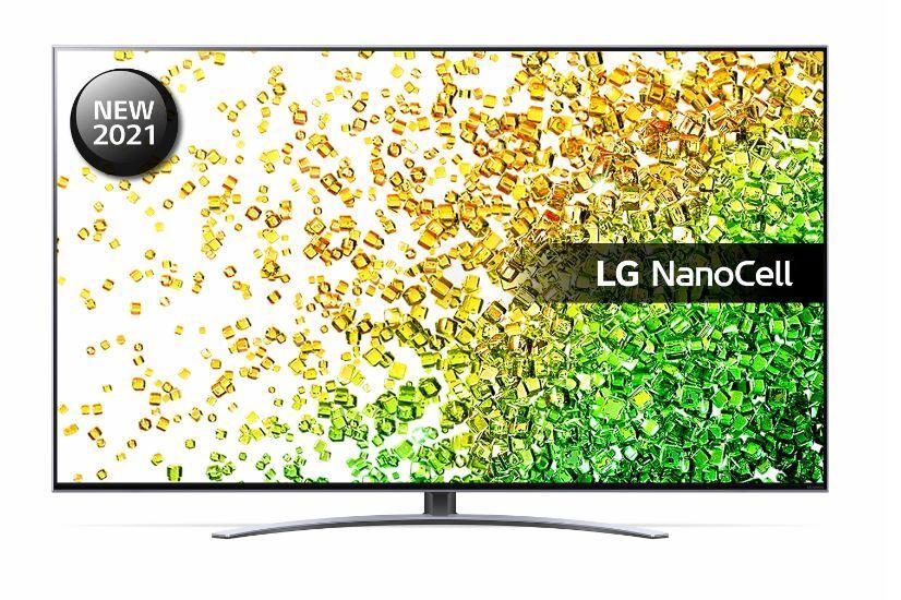 "LG 50"" 4K Ultra HD HDR NanoCell Smart TV - Silver - G Rated - 50NANO886PB"