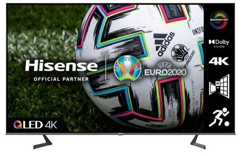 "Hisense 75"" QLED 4K UHD HDR Smart TV - Black - G Rated - 75A7GQTUK"