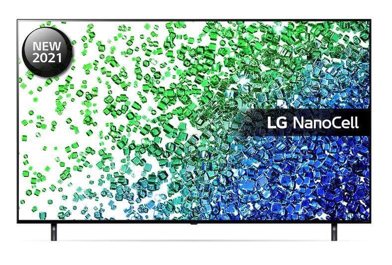 "LG 75"" 4K Ultra HD HDR NanoCell Smart TV - Grey - F Rated - 75NANO806PA"