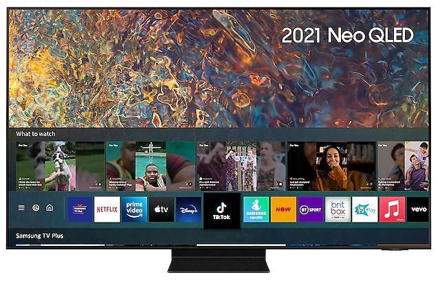 """SAMSUNG QN90A 50"""" Neo QLED 4K Smart TV - Black - F Rated - QE50QN90AATXXU"""