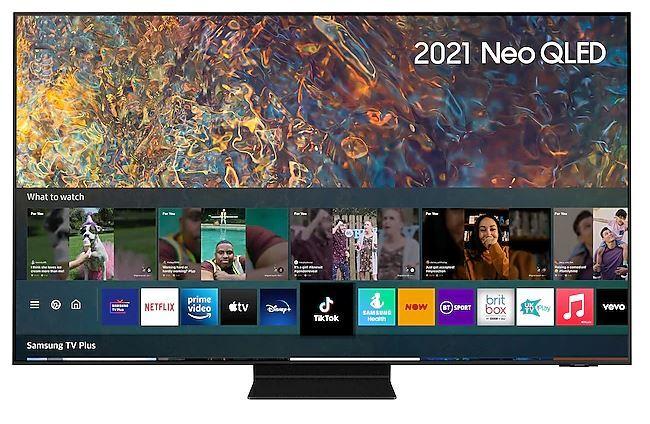 "SAMSUNG QN95A 65"" Neo QLED 4K Smart TV - Silver - G Rated - QE65QN95AATXXU"