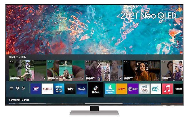 "SAMSUNG QN85A 75"" Neo QLED 4K Smart TV - Silver - E Rated - QE75QN85AATXXU"