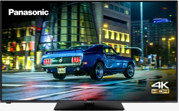 """Panasonic 50"""" Ultra HDR 4K LED Smart TV - Black - G Rated - TX-50HX580B"""