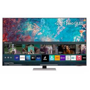 """SAMSUNG QN85A 65"""" Neo QLED 4K Smart TV - Silver - F Rated - QE65QN85AATXXU"""