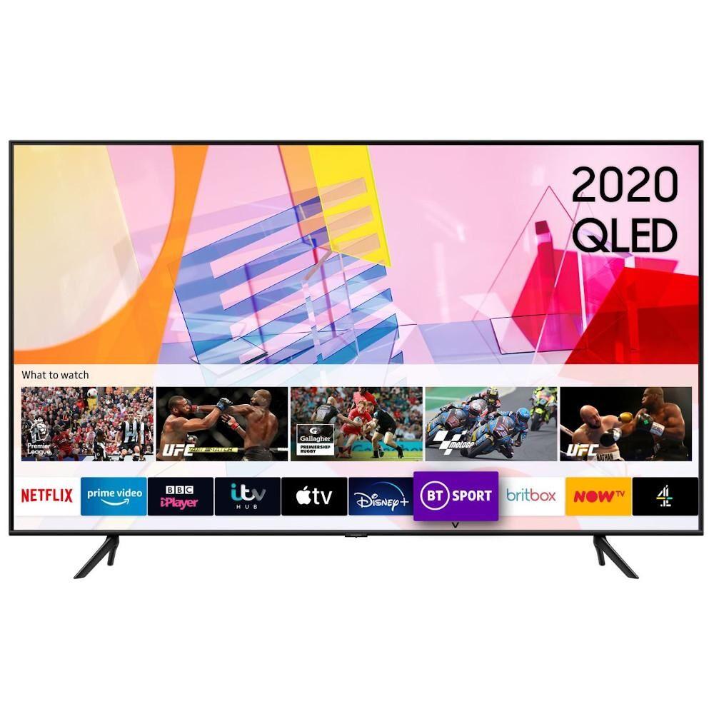"Samsung QE55Q60TAUXXU 55"" QLED 4K Smart Television - Black"