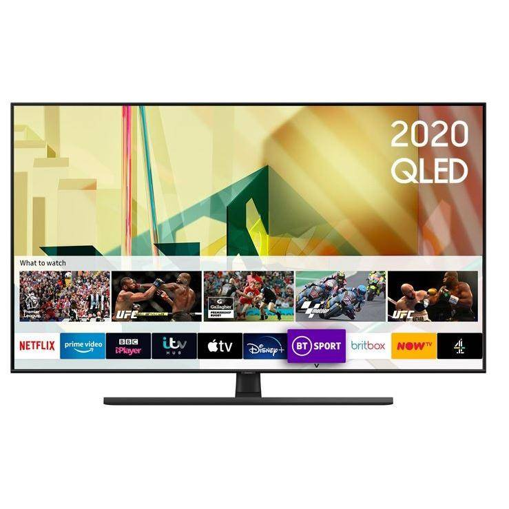 """Samsung QE65Q70TATXXU 65"""" QLED 4K Smart Television - Black"""