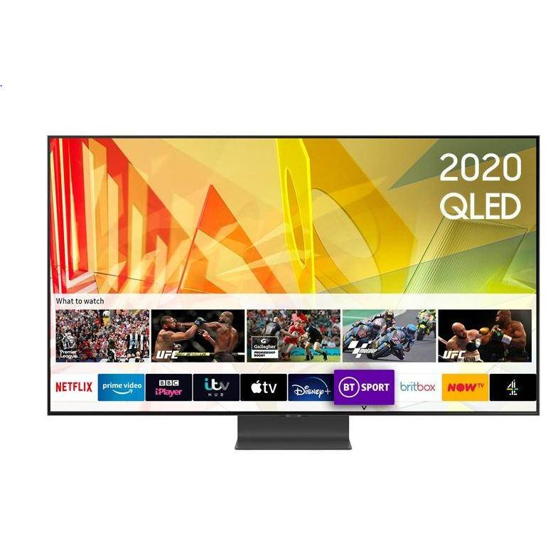 """Samsung QE75Q95TATXXU 75"""" QLED 4K Smart Television - Silver"""