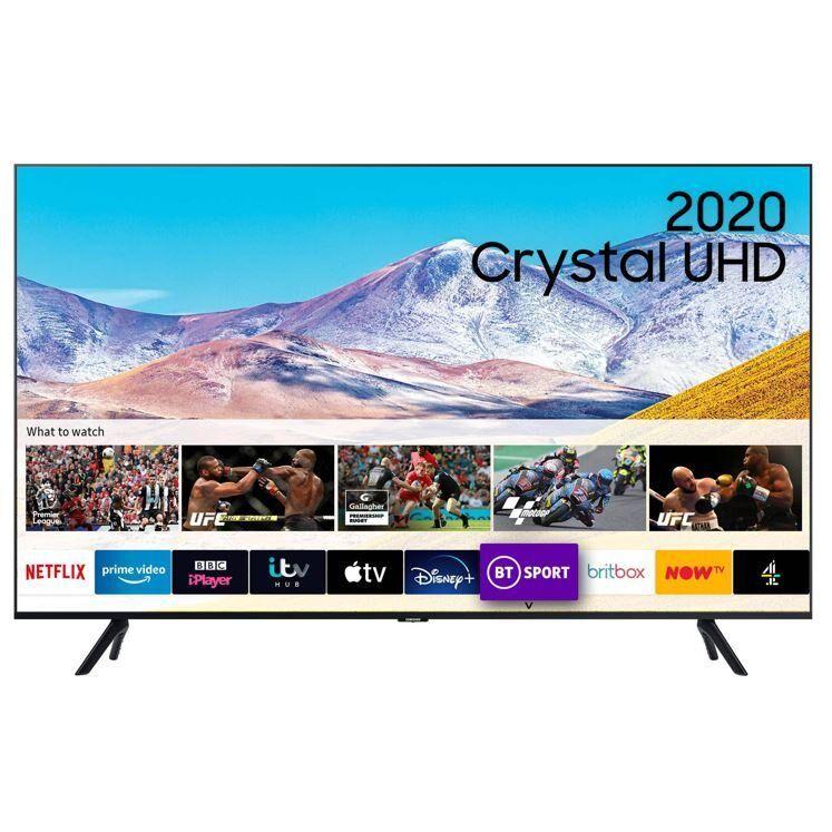 "Samsung UE55TU8000KXXU 55"" LED 4K Smart Television - Black"