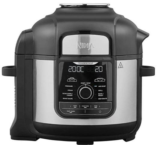 Ninja OP500UK Foodi MAX 9-in-1 Multi-Cooker 7.5 litre