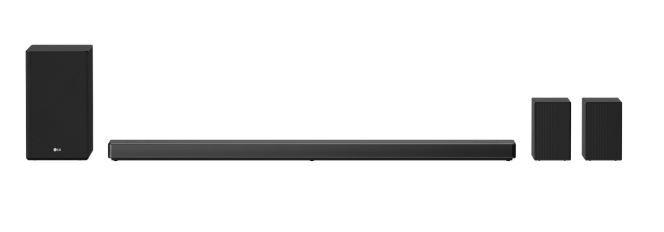 LG SN11RG.DGBRLLK Sound Bar with Meridian Technology - Black