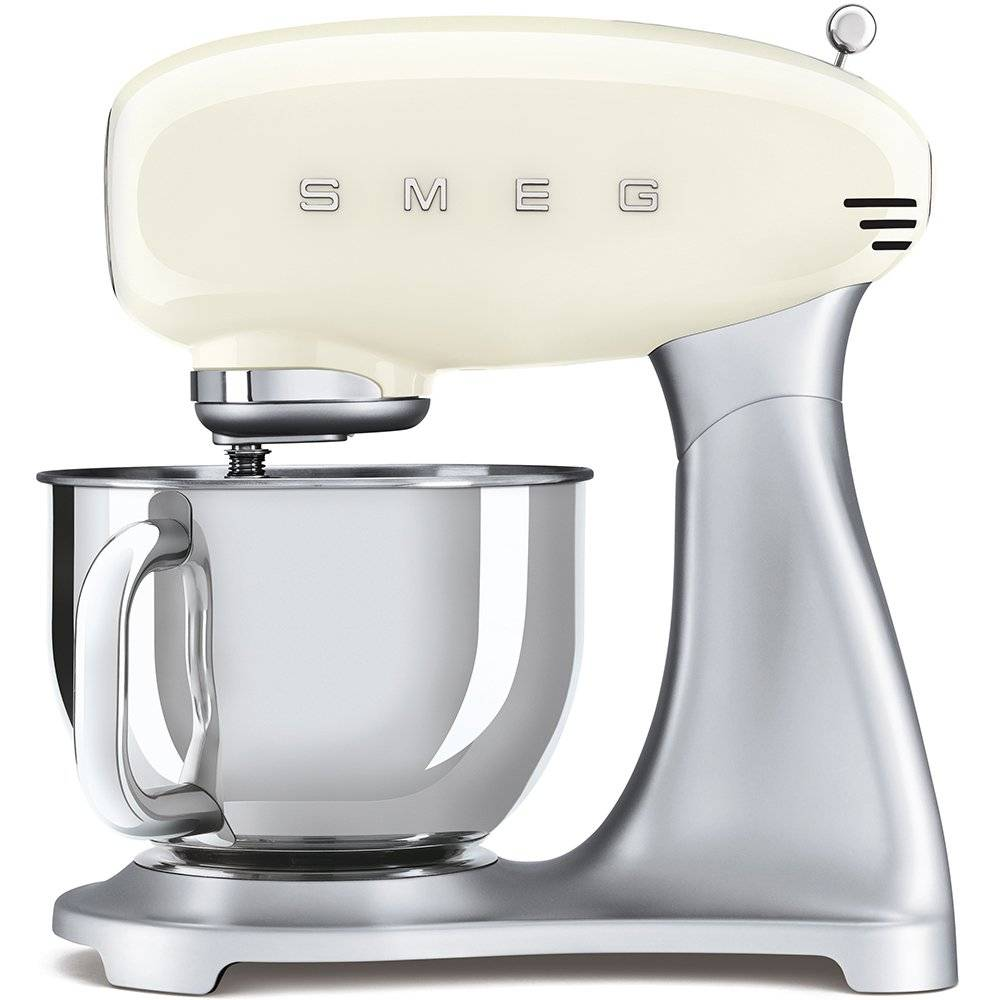 Smeg Retro Stand Mixer - Cream - SMF02CRUK