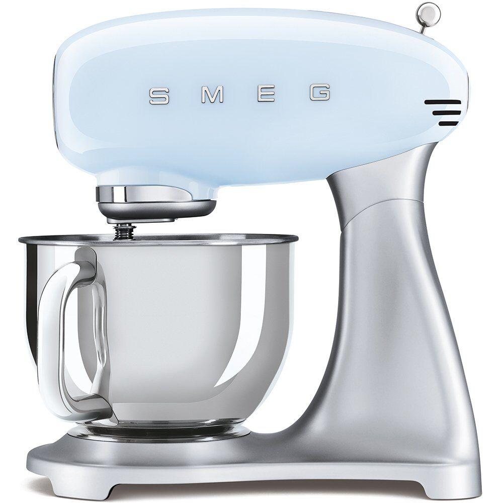 Smeg Retro Food Mixer - Blue - SMF02PBUK