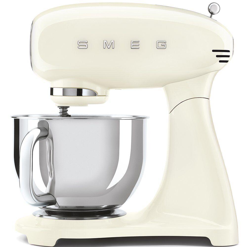 Smeg Retro Stand Mixer - Cream - SMF03CRUK