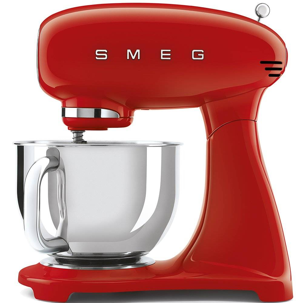 Smeg Retro Stand Mixer - Red - SMF03RDUK