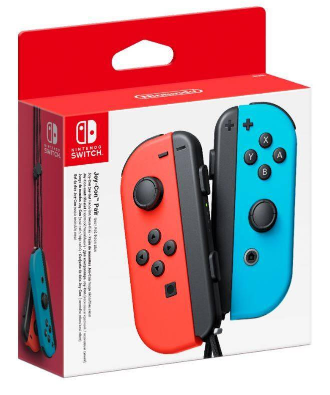 Nintendo Joy-Con Pair Neon Red/Blue - NSAEJSNIN43056