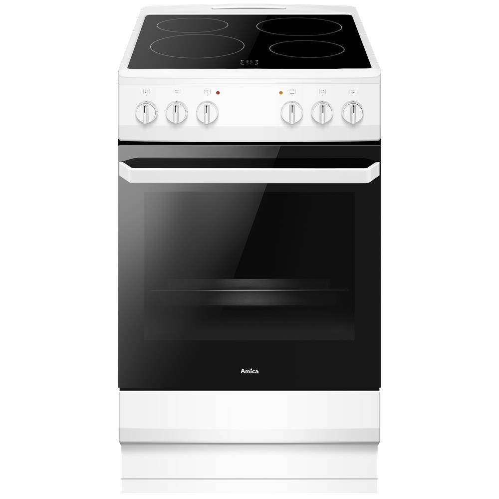 Amica Electric Cooker with Single Oven - A Rated - AFC1530WH