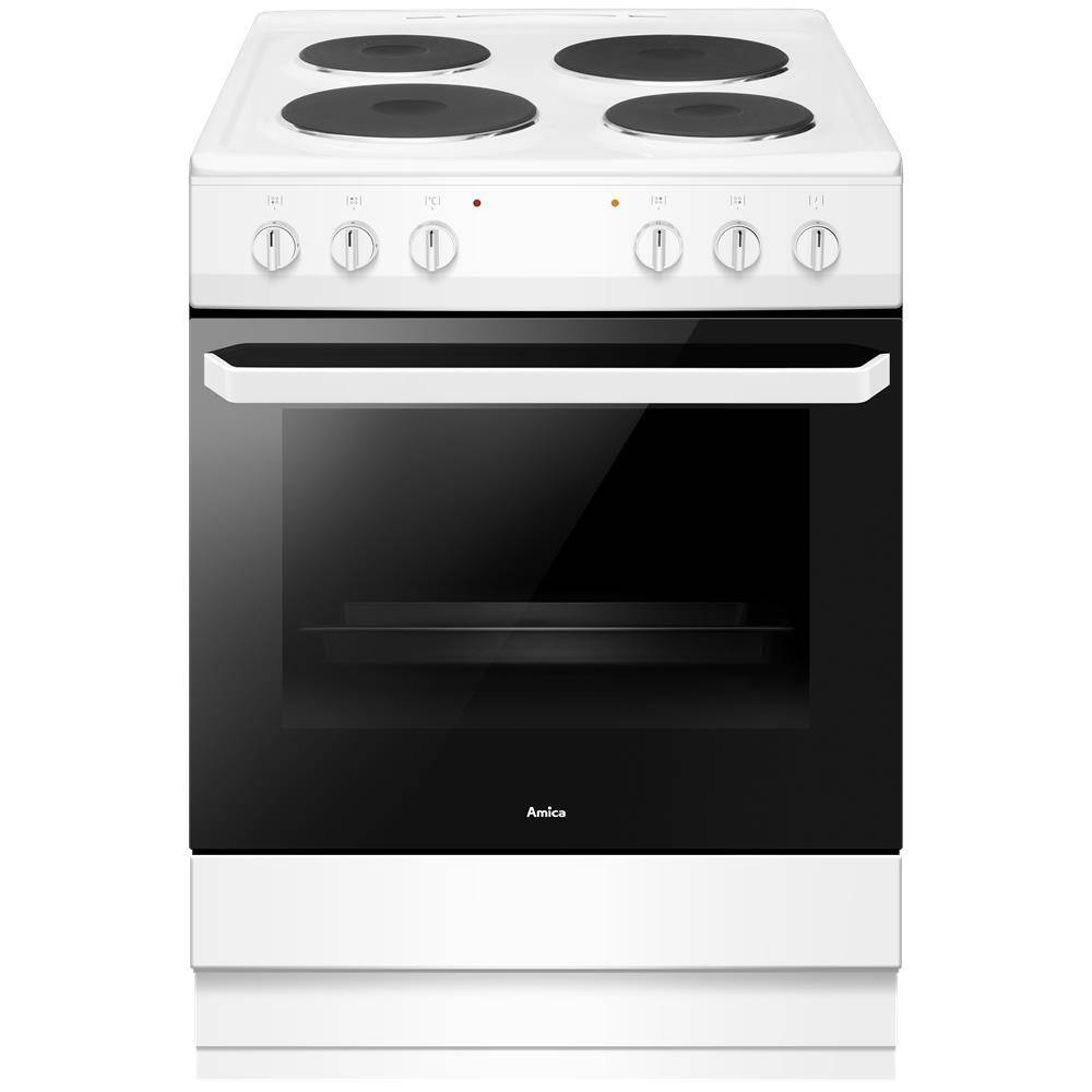 Amica Electric Cooker with Single Oven - A Rated - AFS1630WH