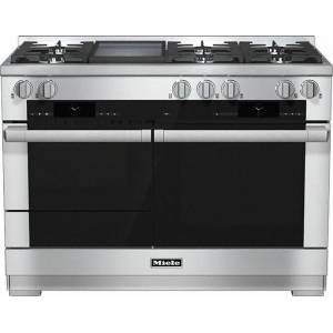 Miele HR1956G-1 Stainless Steel 120cm+ Dual Fuel Range Cooker