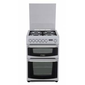 Cannon Harrogate CH60DHWFS Dual Fuel Cooker with Double Oven - White