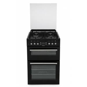 Blomberg GGN64Z Gas Cooker with Double Oven - Black