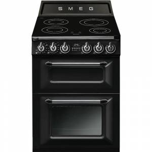 Smeg Victoria TR62IBL Induction Electric Cooker with Double Oven