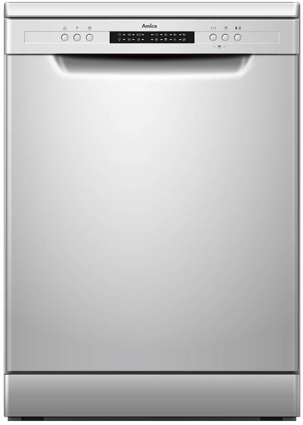 Amica Dishwasher - White - E Rated - ADF650WH