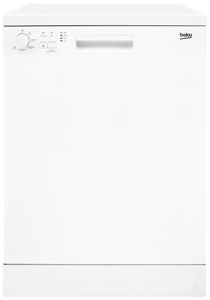Beko Dishwasher - White - E Rated - DFN05320W