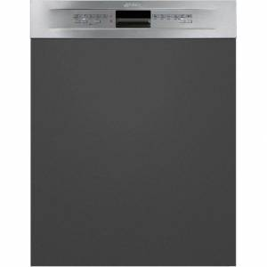 Smeg Built In Semi Integrated Dishwasher - Stainless Steel - E Rated - DD13E2