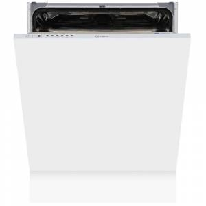 Indesit DIF16B1 Built In Fully Integrated Dishwasher - White