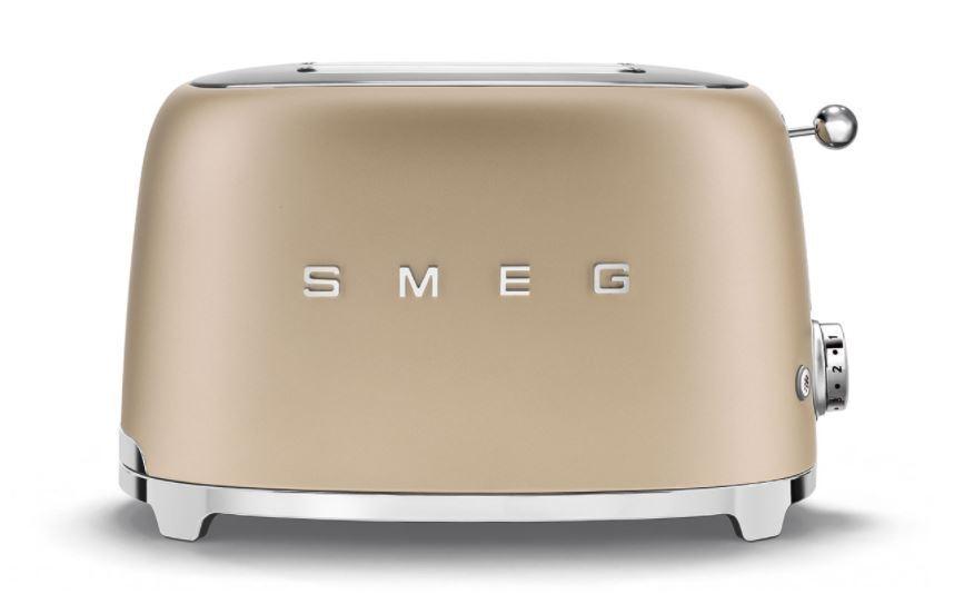 Smeg TSF01CHMUK Toaster - Gold