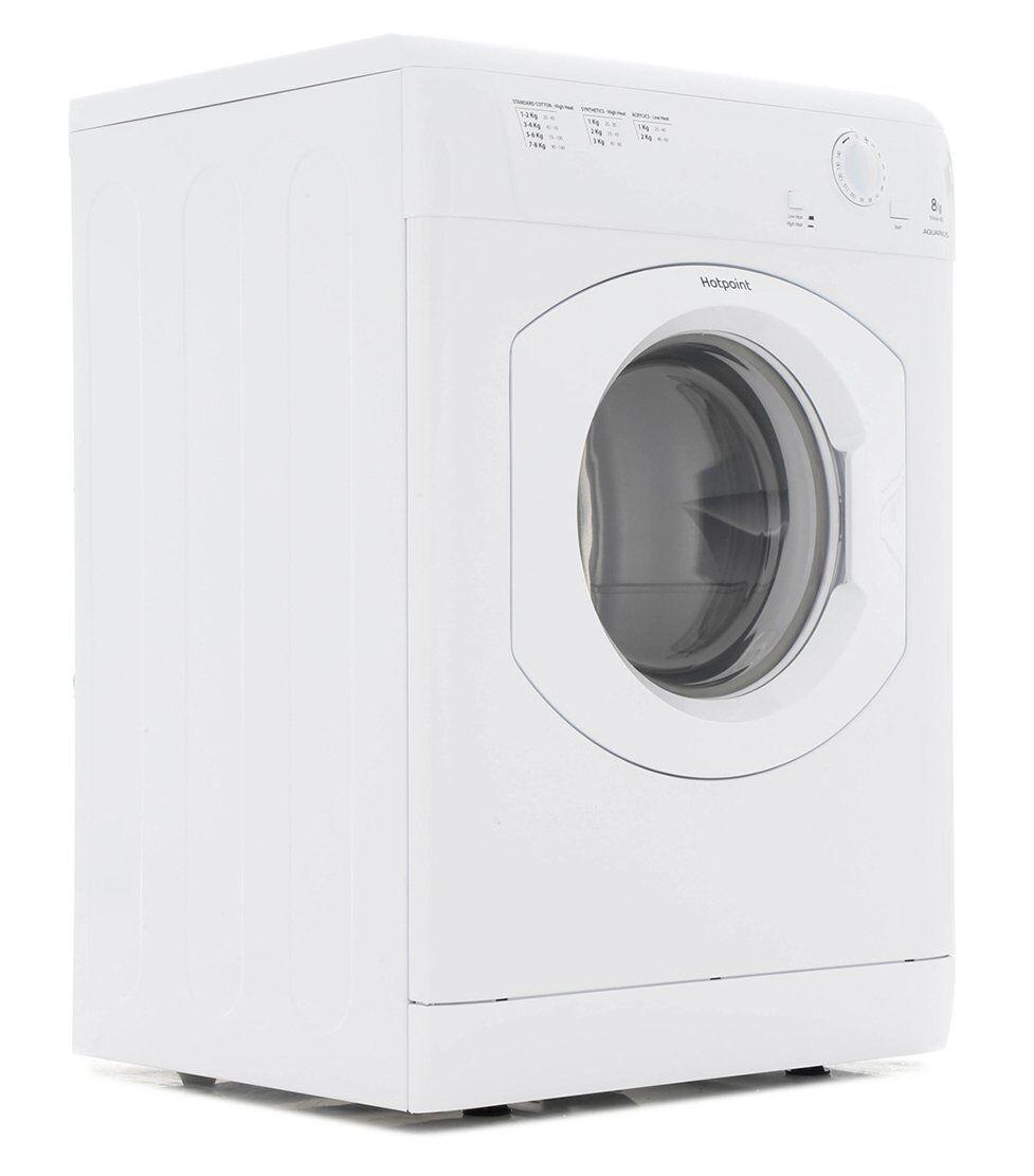 Hotpoint TVHM 80C P (UK) Vented Dryer - White
