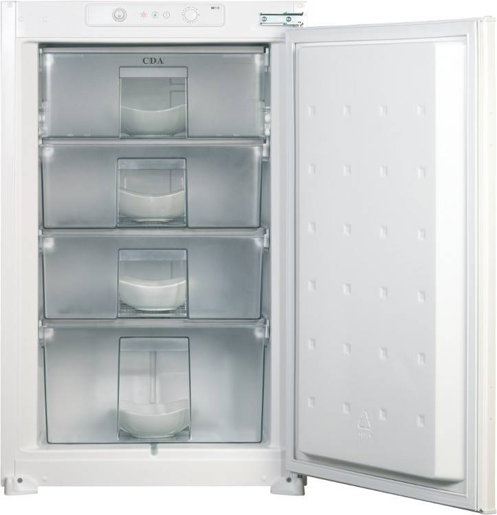 CDA Static Built-In Freezer - White - F Rated - FW482