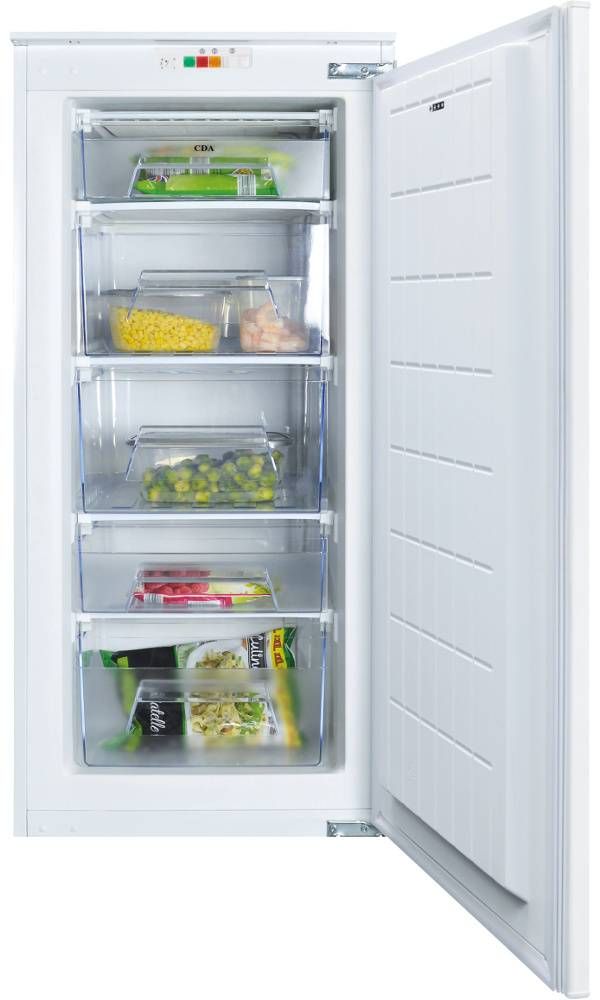 CDA Static Built-In Freezer - White - F Rated - FW582