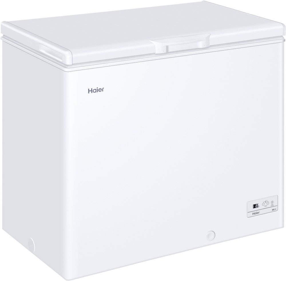 HAIER Static Chest Freezer - White - F Rated - HCE203F