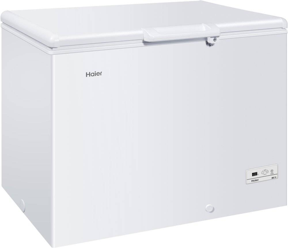 HAIER Static Chest Freezer - White - F Rated - HCE319F