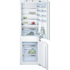 Bosch Serie 6 KIS86AF30G Low Frost Integrated Fridge Freezer - White
