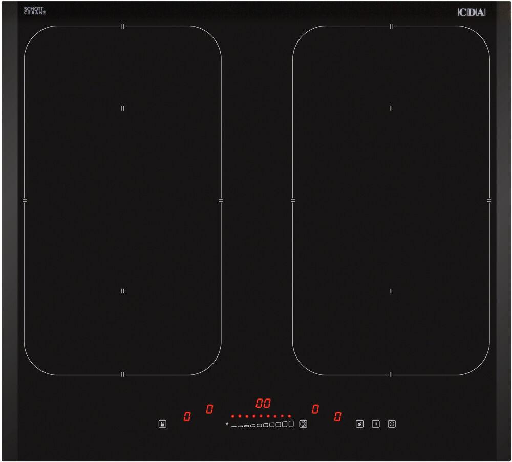 CDA Induction Hob - Black - HN6841FR