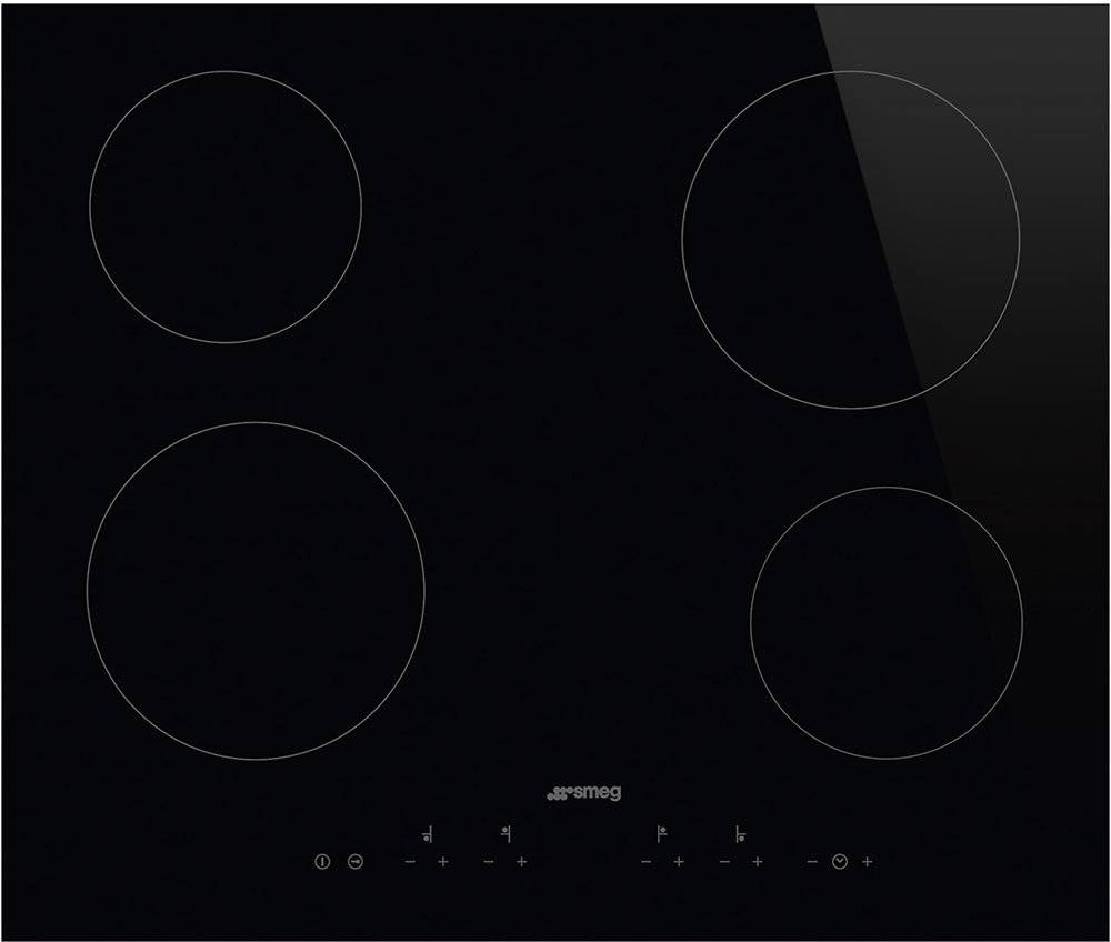 Smeg Ceramic Hob - Black - SE364TD