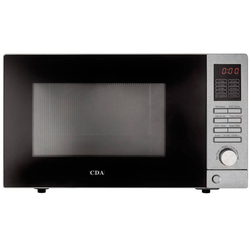 CDA Microwave with Grill - Stainless Steel - VM201SS