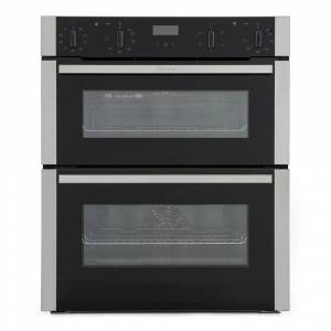 Neff N50 J1ACE2HN0B Double Built Under Electric Oven - Stainless Steel