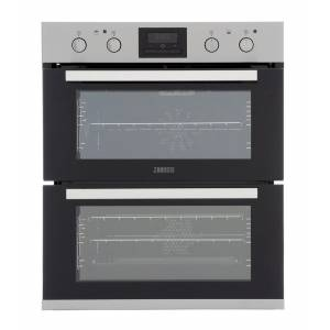 Zanussi ZOF35802XK Double Built Under Electric Oven - Stainless Steel