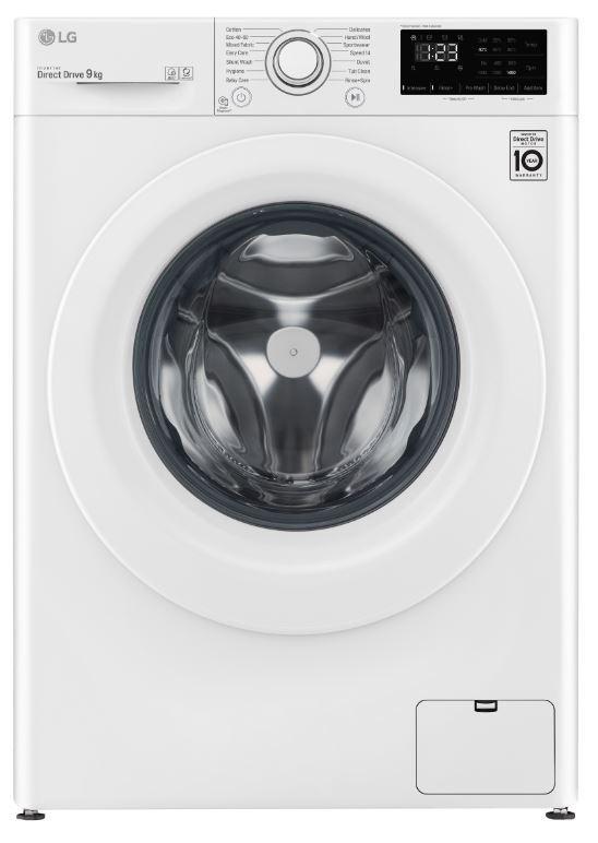 LG Washing Machine - White - B Rated - F4V309WNW
