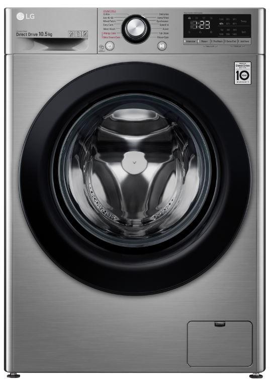 LG Washing Machine - Grey - B Rated - F4V310SSE