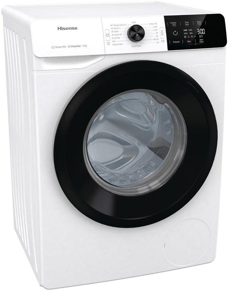 Hisense Washing Machine - B Rated - WFGE80142VM