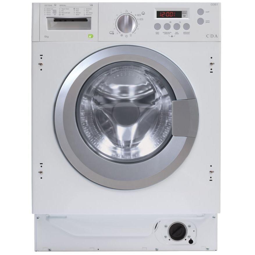 CDA CI361 Integrated Washing Machine - White