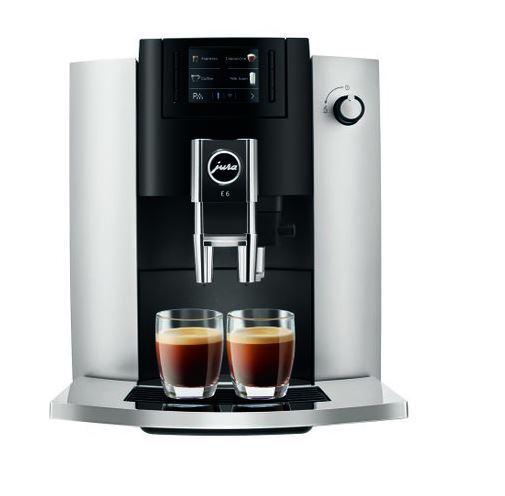 Jura E6 Coffee Machine - Black - 15342